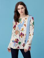 Diane von Furstenberg Side Slit blouse