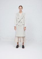 Rachel Comey silver freight coat