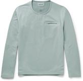 Descente - S.i.o Slim-fit Fleece Sweatshirt
