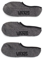 Vans Classic Super No Show Socks 3 Pair Pack