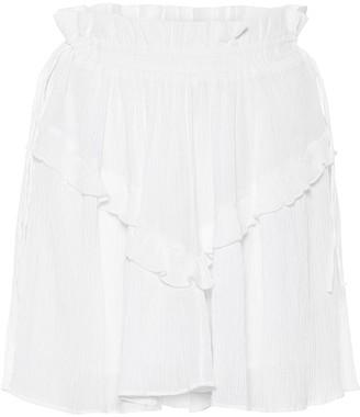 Etoile Isabel Marant Itelo cotton-blend miniskirt