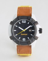 Timberland Chocorua Watch In Yellow