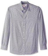 Cutter & Buck Men's Long Sleeve Georgetown Stripe Woven Shirt