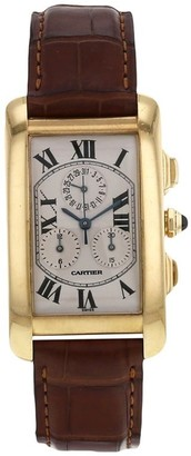 Cartier 2000 pre-owned Tank Americaine 27mm