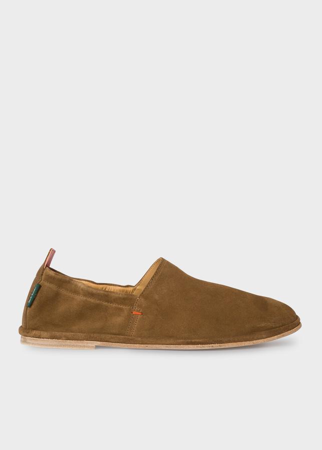 Paul Smith Men's Tan Suede 'Cornelius' Shoes