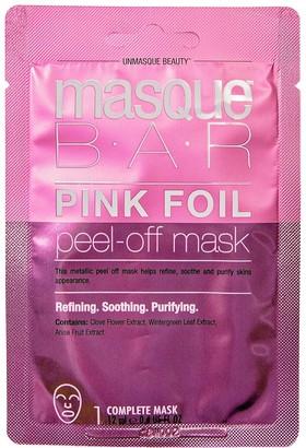 Masque Bar Pink Foil Peel Off Mask