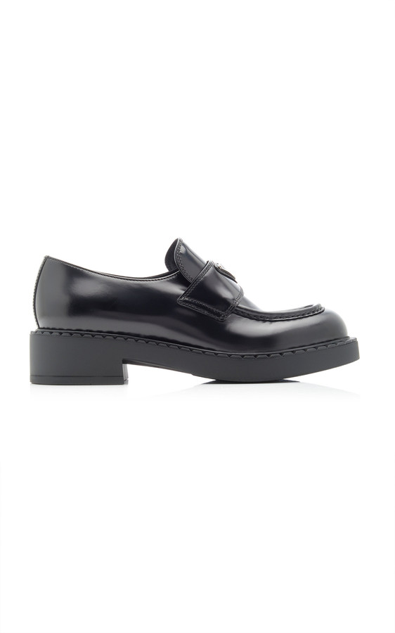 Womens Prada Penny Loafers - ShopStyle
