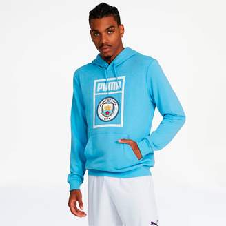 Manchester City FC Men's Shoe Tag Hoodie