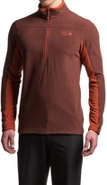 Mountain Hardwear MicroChill 2.0 Fleece Shirt - UPF 50, Zip Neck, Long Sleeve (For Men)