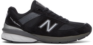 New Balance Black Made In US 990 v5 Sneakers
