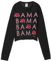 PINK University Of Alabama Long Sleeve Campus Cutout Tee