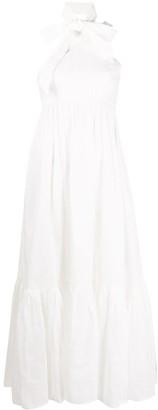 Zimmermann One-Shoulder Flared Midi Dress