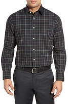 Nordstrom Men's Smartcare(TM) Wrinkle Free Regular Fit Plaid Sport Shirt