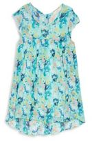 Soprano Girl's Floral-Print Dress