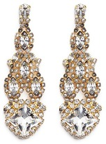 Erickson Beamon Swarovski crystal chandelier earrings