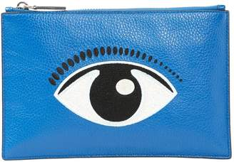 Kenzo Blue Leather Clutch bags