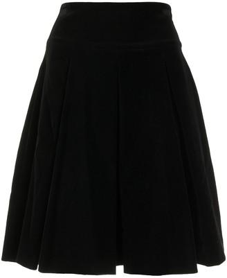 Emporio Armani Zipped Flared Skirt