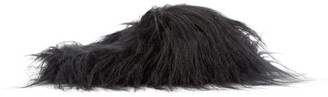 MM6 MAISON MARGIELA Black Hairy Slippers