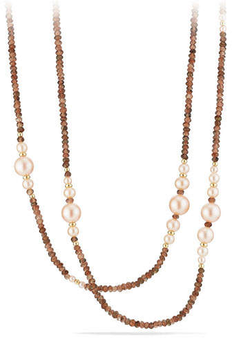 David Yurman Solari Pearl Tweejoux Necklace