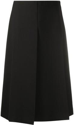 Joseph Pleat-Detail Midi Skirt