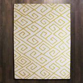 The Well Appointed House Global Views Hand Tufted Maze Rug in Solar-Available in Four Different Sizes
