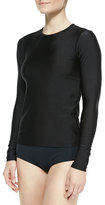 Cover Perfect UPF 50 Long-Sleeve Swim Tee, Black