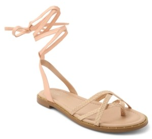 BCBGeneration Zillo Lace Up Flat Sandals Women's Shoes