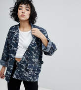 Reclaimed Vintage Revived Military Jacket In Pixel Camo