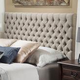 Asstd National Brand Chandler Full/Queen Upholstered Tufted Headboard