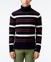 Tommy Hilfiger Men's Striped Turtleneck Sweater