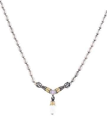 Lagos Sapphire & Topaz Arcadian Pendant Necklace