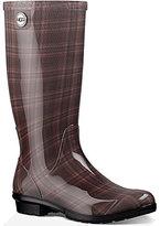 UGG Shaye Plaid Rubber Rain Boots