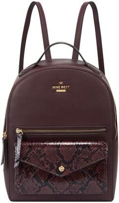 Nine West Croco Backpack - Amelia