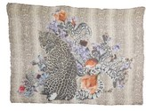 Yigal Azrouel Women's Floral Cheetah Modal & Cashmere Scarf