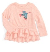 Infant Girl's Egg By Susan Lazar Joanna Peplum Tee