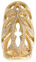Loree Rodkin extra large 'Cigar' band diamond ring