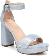 Metallic Blue Sandals ShopStyle Australia