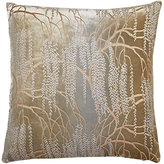 Kevin OBrien Kevin O'Brien Weeping-Willow-Print Velvet Pillow