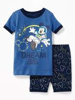 "Old Navy Disney© Mickey Mouse ""Dream Big"" Sleep Set for Toddler & Baby"