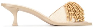 Cult Gaia Uma Heel slip-on sandals