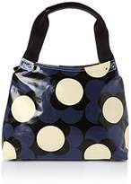 Orla Kiely Shiny Laminated Shadow Flower Classic Zip Shoulder