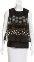 Suno Embellished Sleeveless Top