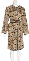Dries Van Noten Printed Lightweight Coat