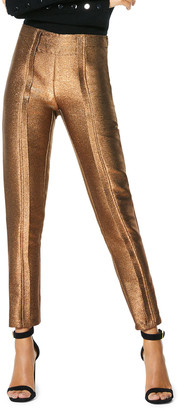 Ramy Brook Lucinda Metallic Skinny Pants