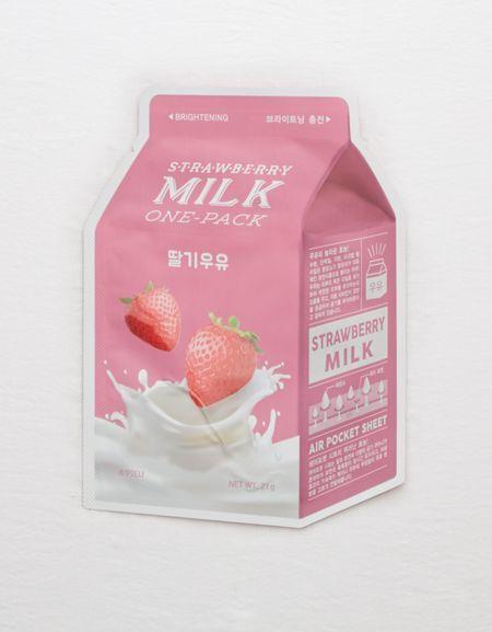 aerie A'PIEU Milk Sheet Mask