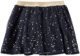 Osh Kosh Woven Skirt - Navy - 4T