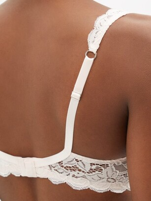 Hanro Moments Lace Soft-cup Bra - Light Pink