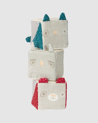Micki - Blue Animals - Soft Blocks 1 - Size One Size at The Iconic