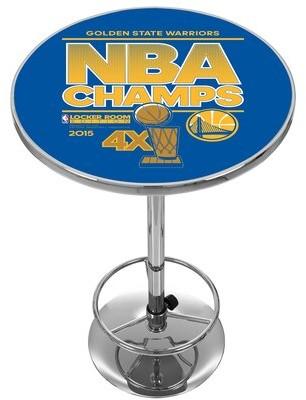 Trademark Global NBA Golden State Warriors 2015 Champions Pub Table