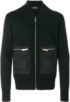 DSQUARED2 cargo cardigan - men - Polyester/Wool - M